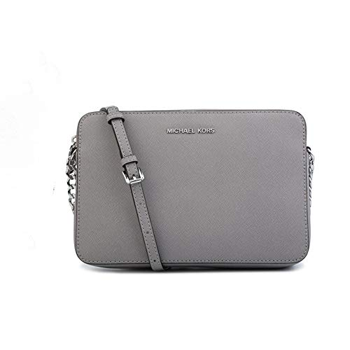 Read more about the article MICHAEL Michael Kors Women's Large East/West Cross Body Bag (Ash Grey)