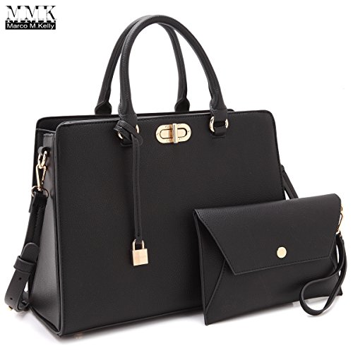 Read more about the article MMK collection Fashion Handbag with coin purse(XL-11) Classic Women Purse Handbag for Women` Signature fashion Designer Purse ~ Perfect Women Satchel Purse (XL-23-7581-BK)