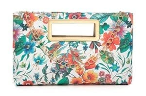 Read more about the article Aitbags Clutch Purse for Women Evening Party Tote with Shoulder Chain Strap Lady Handbag-Floral Print