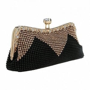 Read more about the article Afibi Women Handbags Rhinestone Evening Bags Crystal Party Clutches Bag