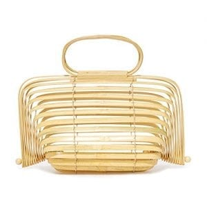Read more about the article Herald Fashion Bamboo Handbag Handmade Large Tote Bag (Large, Yellow)