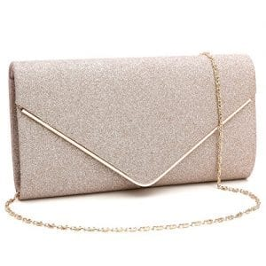 Read more about the article GESU Womens Shining Envelope Clutch Purses Evening Bag Handbags For Wedding and Party