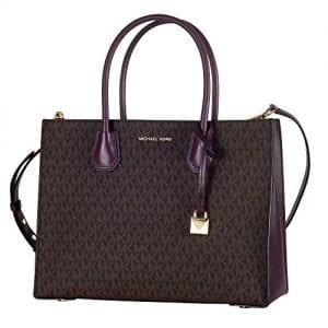 Read more about the article Michael Kors 30S7GM9T3V Womens Mercer Tote, Brown (Brown), 14×24.7×31.7 cm (W x H x L)