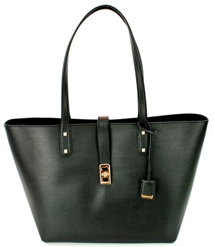 Read more about the article Michael Kors Karson LG Carryall Tote Leather Black (35T8GKRT3L)