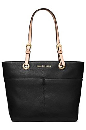 Read more about the article Michael Kors Bedford Top Zip Pocket Tote (Black)