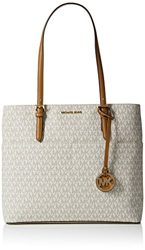 Read more about the article Michael Kors Womens Bedford Tote White (Vanilla)