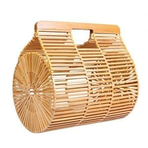 Read more about the article HOSPORT Women Straw Bag Bamboo Hollow Handbags Summer Totes