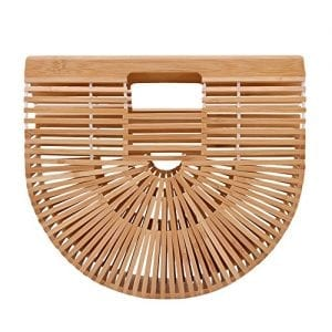 Read more about the article Bamboo Tote Bag for Women, Handmade Bamboo Handbags, Fashion Summer Beach Bags for Travel