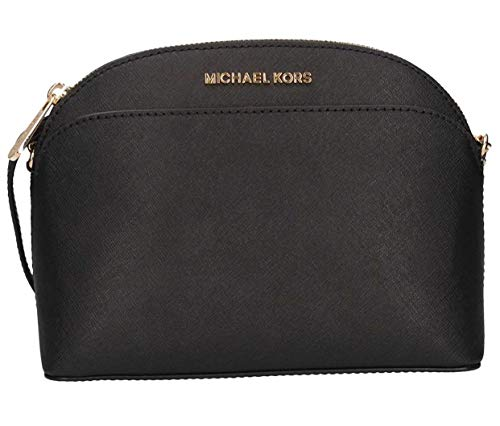 Read more about the article Michael Kors Emmy Saffiano Leather Medium Crossbody Bag (Black Saffiano)