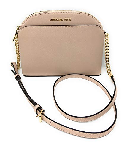 Read more about the article Michael Kors Emmy Saffiano Leather Medium Crossbody Bag (Ballet Saffiano)