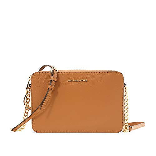 Read more about the article Michael Kors Jet Set Ladies Large Acorn Leather Crossbody 32S4GTVC3L203