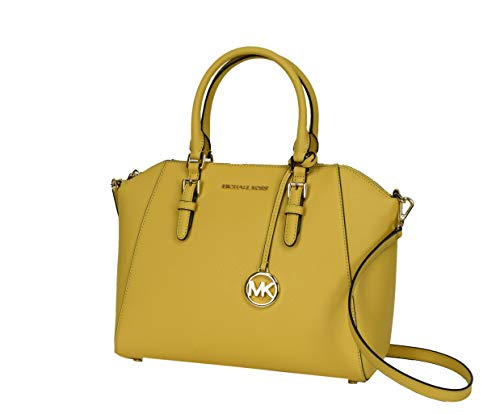 Read more about the article Michael Kors Large Ciara Top Zip Womens Satchel (Dusty Daisy)