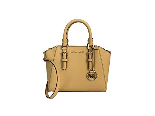 Michael Kors Ciara Medium Saffiano Leather Messenger – Dusty Daisy