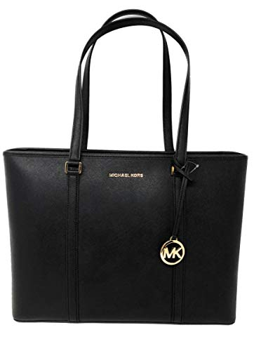 Michael Kors Large Sady Carryall Shoulder Bag (Black)