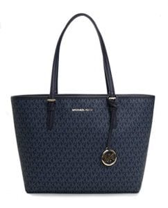 Read more about the article Michael Kors Women's Jet Set Travel Md Carryall Tote No Size (Admiral)
