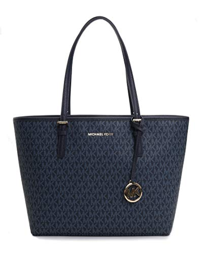 Michael Kors Women's Jet Set Travel Md Carryall Tote No Size (Admiral)