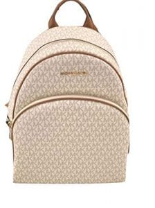 Read more about the article MICHAEL Michael Kors Abbey Jet Set Large Leather Backpack (Vanilla 2018)