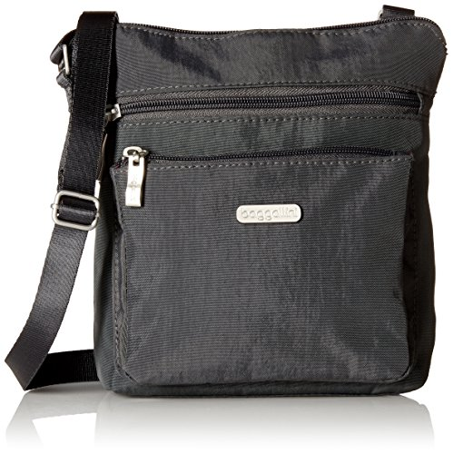 Read more about the article Baggallini Pocket Crossbody Bag – Stylish, Lightweight, Adjustable Strap Purse With RFID-Protected Wristlet, Hands-Free Travel Bag with Interior Organizational Pockets and More