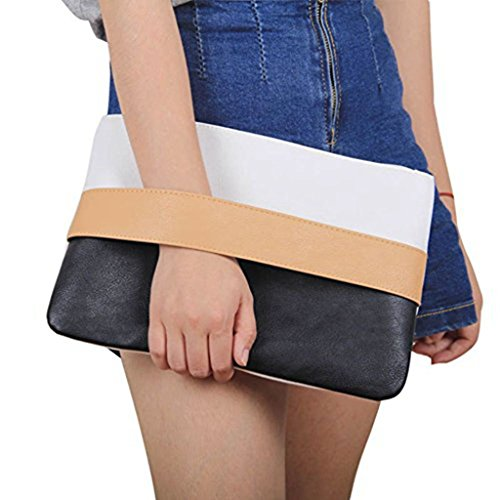 Read more about the article Unique Patchwork Design Women's Clutch Handbag Wristlets for Beach Holiday Travel