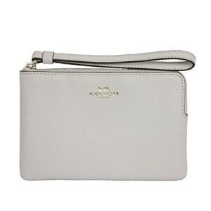 Read more about the article Coach Crossgrain Leather Corner Zip Wristlet