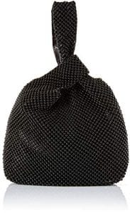 Read more about the article Jessica McClintock Logan Ball Mesh Evening Pouch, Black